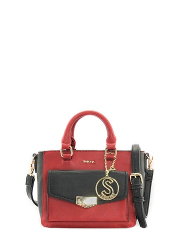 SEMBONIA red SEMBONIA Synthetic Leather Tote Bag (Red) SE598AC0SZHVMY_1