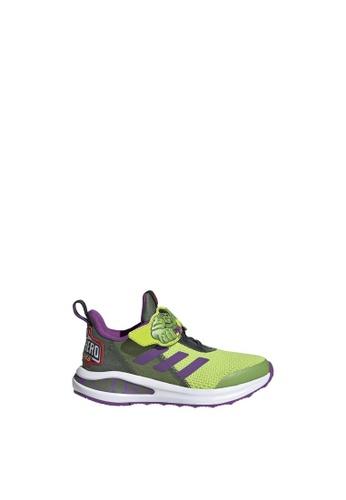 ADIDAS green fortarun super hero shoes DB2B8KS5252A79GS_1