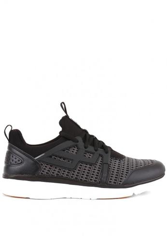 World Balance black Freedom Gunner MS Sneakers F42E8SH08E2876GS_1