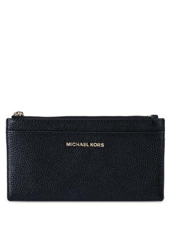 Michael Kors black L Slim Card Case (zt) A8E1BACCB0A732GS_1