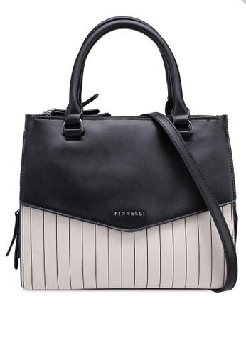 Fiorelli Black And White Mia Grab Top Handle Bag 2f384ac5c737b2gs 1