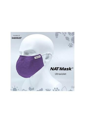 Bambooloo multi Bambooloo Nat:Mask© 3+1 Layer Reusable Mask Ultraviolet size Medium E397EES75D13E4GS_1