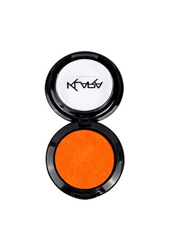 KLARA COSMETICS orange Shimmer Eyeshadow #13 - Forbidden Orange 1E4E3BE7C34914GS_1
