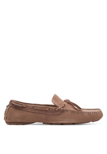Superdry brown Super Driver Boat Shoe SU137SH0S4HCMY_1