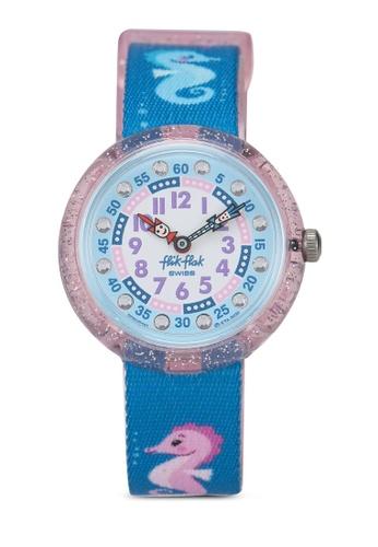 Flik Flak blue Cavalluccio Watch 3ACD0KCA271C09GS_1