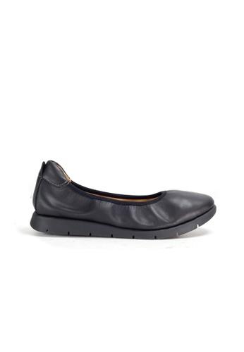 Shu Talk 黑色 DARKWOOD 超舒適芭蕾舞有跟鞋 865E3SHD3A2DBDGS_1