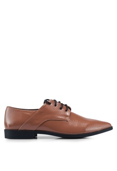 ebe063a37ed5 Rubi brown Ambrose Point Toe Brogues E3A3ESHC1338C6GS 1
