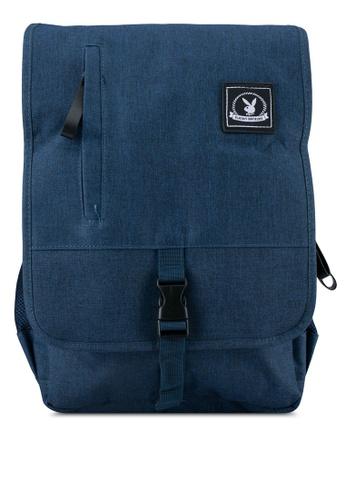 Playboy blue Playboy Backpack PL371AC0SJZUMY_1