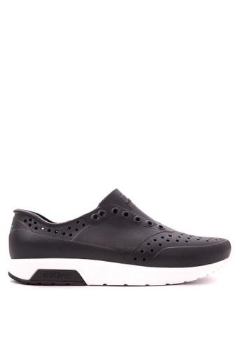 Native black Lennox Sneakers NA764SH32LALPH_1