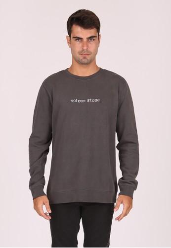 Volcom black MFL LUCID STATE CREW BLK B4385AAFD039CEGS_1