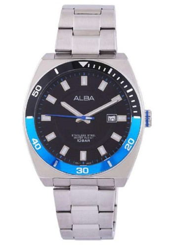 Alba silver Alba Jam Tangan Pria AS9D95X1 Prestige Silver 94EEEAC1418F79GS_1