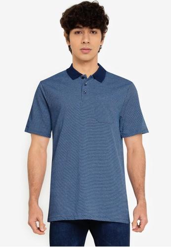 LC Waikiki blue Basic Polo Shirt AC38CAA9FD5863GS_1