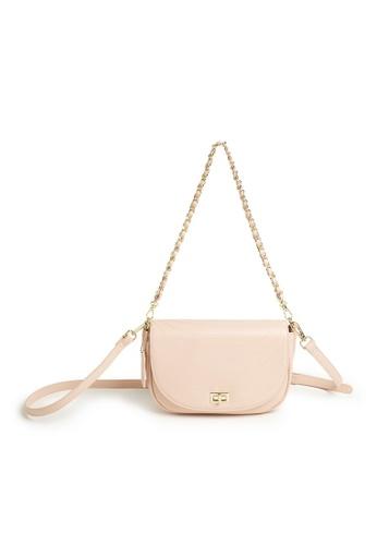 Tracey beige Tracey Carol Flap Sling Bag E718FAC955C3AEGS_1