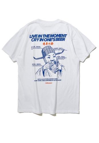 Twenty Eight Shoes Trend Printed Short T-Shirt 91908S 723CCAA4E5040FGS_1