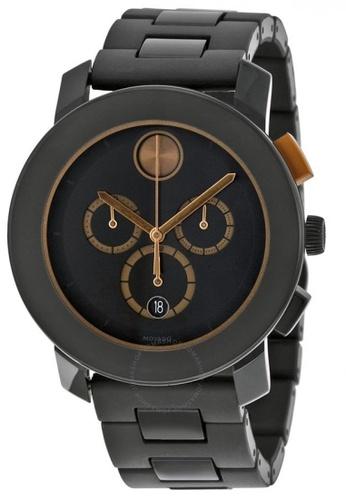 46a0b57f2 movado black MOVADO Bold Black Dial Black Stainless Steel Case and Band  Men's Quartz Watch DE852AC2C17CE1GS_1
