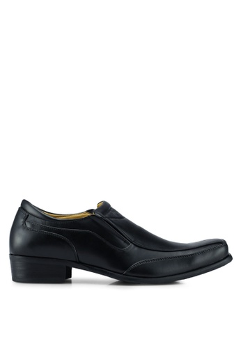Louis Cuppers black Business Shoes 88FA6SHEBBD416GS_1