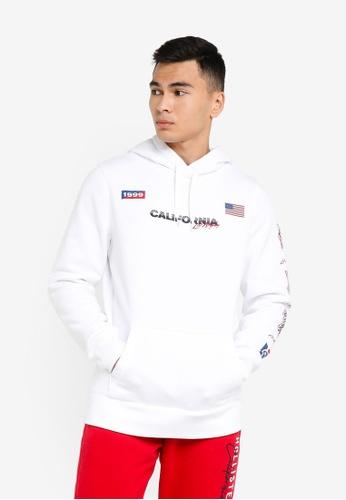 Hollister white Moto Chase Sweatshirts FB2C3AA240525DGS_1