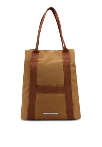 Rawrow brown Wax 295 Cotna Shoulder Bag A032FACB165D8FGS_1
