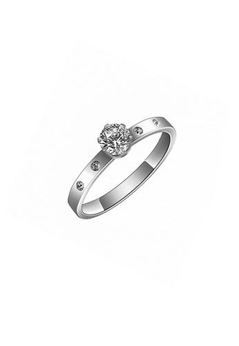 CELOVIS silver CELOVIS - Arwen White Zirconia in Round Solitaire Ring (Silver) B1B46ACEF6EFEBGS_1