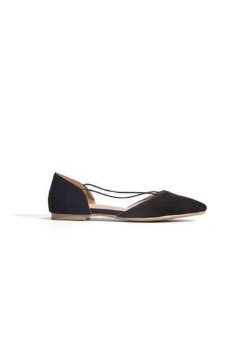 hk-ehunter black Women Velvet Skin Flat Shoes 84097SH841208DGS_1