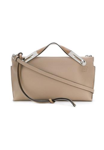 LOEWE beige Loewe Missy Small Crossbody Bag in Beige 3DA03ACF61A96EGS_1