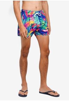 c3d72c8d9a Neon Multi Colored Amazon Swim Shorts E8C3CUSCC3766EGS 1 Topman ...