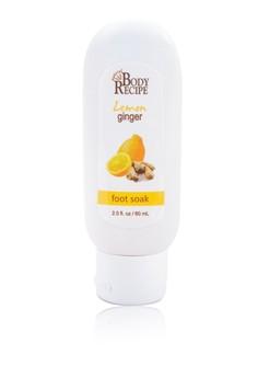 Foot Soak Lemon Ginger 60ML