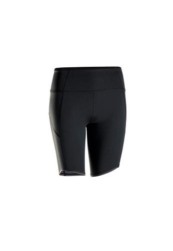 Decathlon KIMJALY Celana Pendek Yoga Dinamis - Hitam - 8574172 0CE15AA350E22BGS_1
