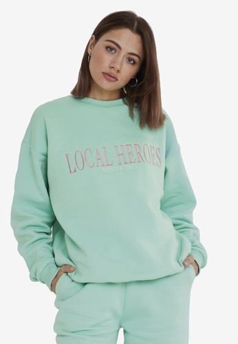 Local Heroes green LH 2013 Mint Sweatshirt 2C3E9AA2B96B0CGS_1