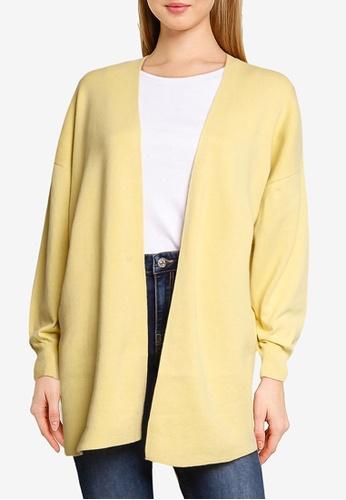 LOWRYS FARM yellow Knit Cardigan 2C8FCAAF90F2D0GS_1
