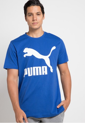 PUMA blue Sportstyle Prime Classics Logo Tee CE43DAAD0AE904GS_1