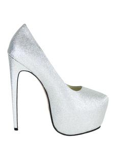 Party Silver Heel