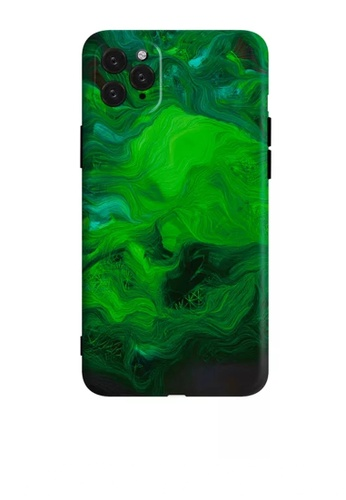 HAPPY FRIDAYS Paint Green IPhone Protective Printed Case DM17 BA481ACF2CF3FCGS_1