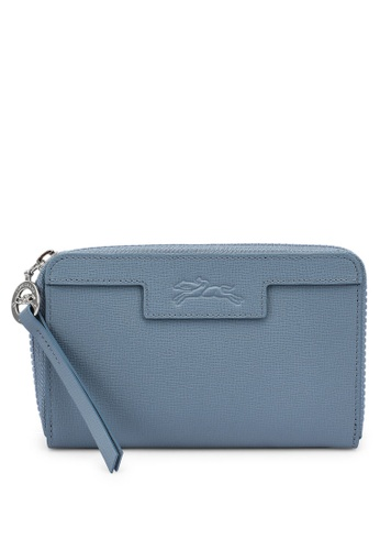 Longchamp blue Le Pliage Neo Wallet 4EF71ACD3D308AGS_1