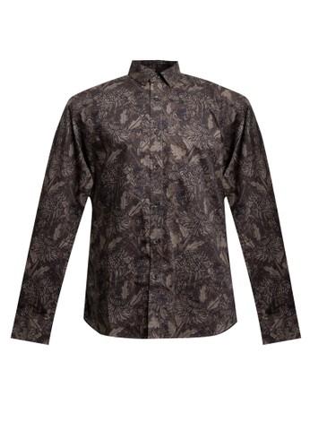 Men's Top brown BAILEY 4-D. BROWN Shirt 2969DAAEAA61DBGS_1