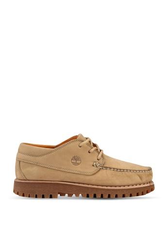 Timberland beige Jackson's Landing Moc Toe Oxford Shoes FB3C8SHA9362AEGS_1