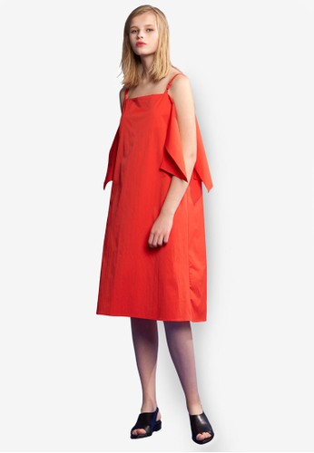 造型挖肩細肩帶esprit旗艦店連身裙, 服飾, 洋裝