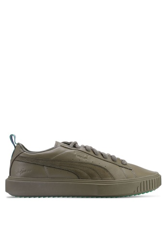 f2760343b7a6 Puma Select green Puma x Big Sean Breaker Shoes 4A783SHBF75A2FGS 1