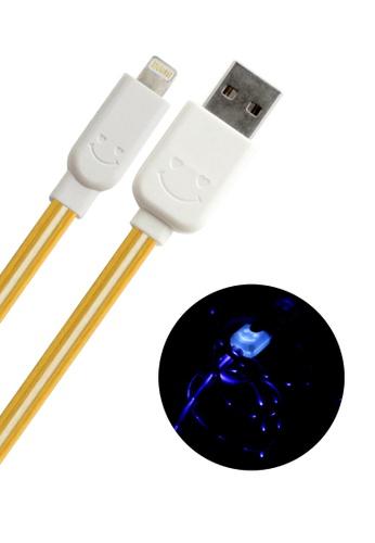 BAVIN yellow Lightning USB Cable for IOS iPhone / iPad / iPod AC215ACB62F1F9GS_1