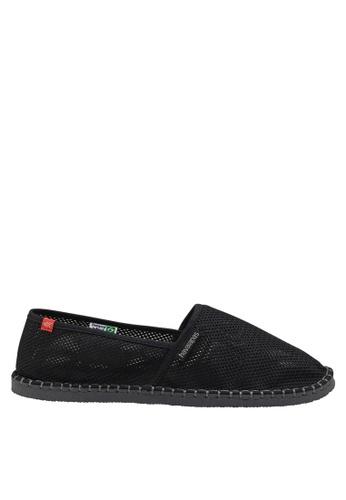 Havaianas black Origine Cool Slip On Sneakers HA021SH77BOOPH_1