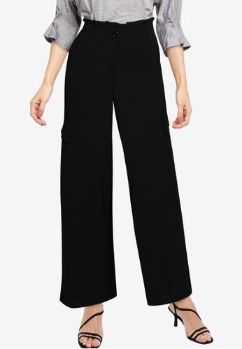 Nichii 黑色 Cargo Pants 052DCAA4078402GS_1