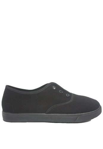 Dr. Kevin black Dr. Kevin Men Sneakers Slip On 9313 - Black 0CA2BSH520AEE7GS_1