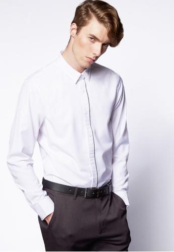 Life8 white Formal Fashion Shirts-11103-White LI283AA0FFGASG_1