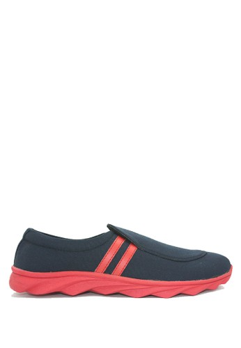 Dr. Kevin multi and navy Dr. Kevin Men Casual Shoes Slip On 13270 - Black/Red DR982SH56FUPID_1
