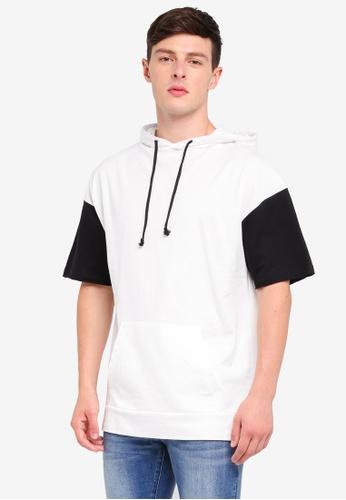 MANGO Man white Short Sleeve Cotton Sweatshirt BB4E6AAC3EFB93GS_1