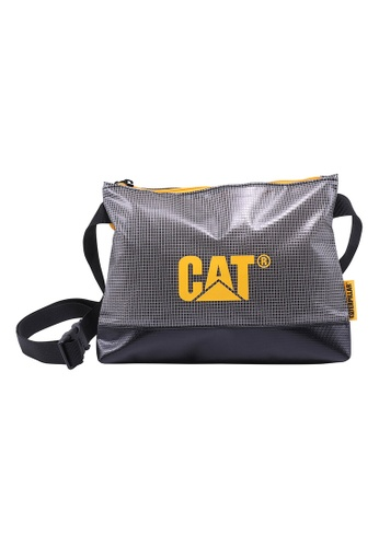 CAT grey CAT Wave Rider Pyxie Sling Bag E38D8AC425951AGS_1