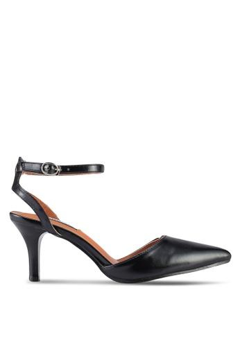 Mimosa 黑色 尖形鞋頭 高跟鞋 84416SHBEEBDEEGS_1