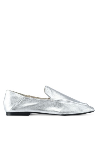 Mango silver Metallic Leather Shoes A7E25SH56CF99AGS_1