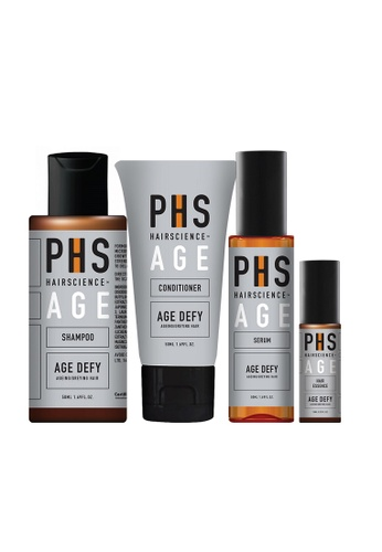 PHS HAIRSCIENCE (For Aging/Greying Hair) Age Defy Starter Kit 69B2EBE1FA52CEGS_1