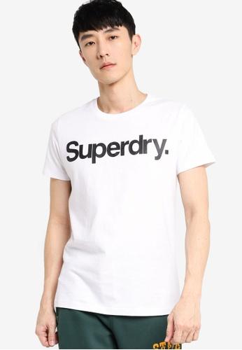 SUPERDRY white Cl Ns Tee BCA2CAA594ABBAGS_1